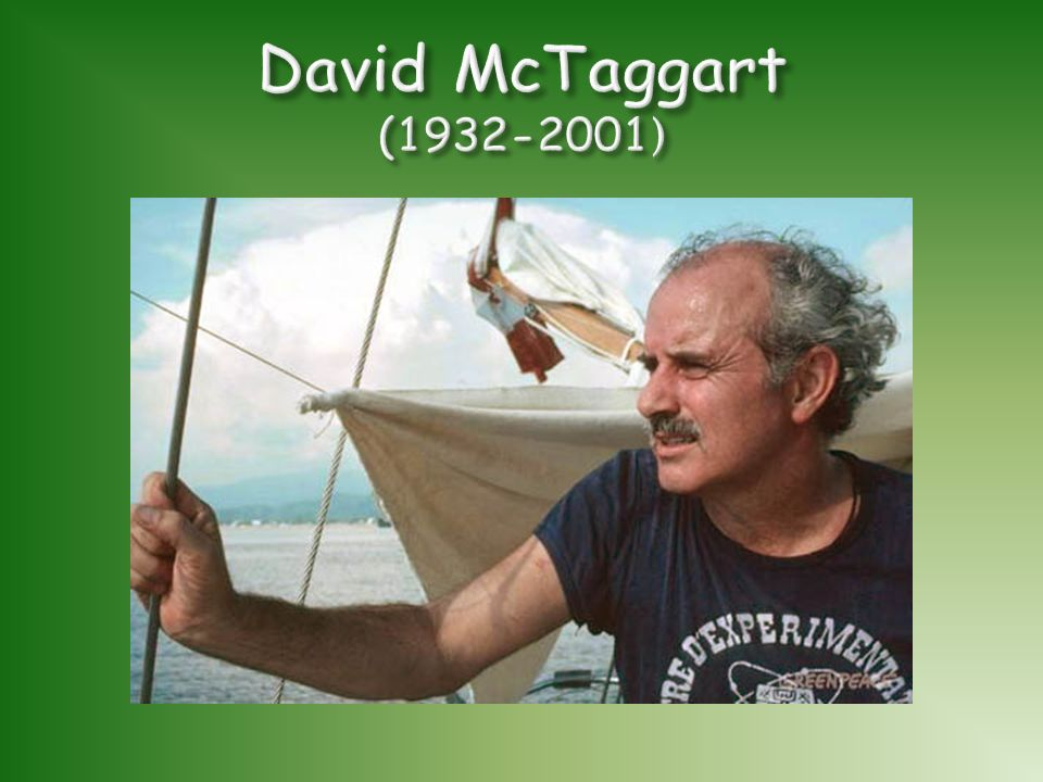 David McTaggart (1932-2001)