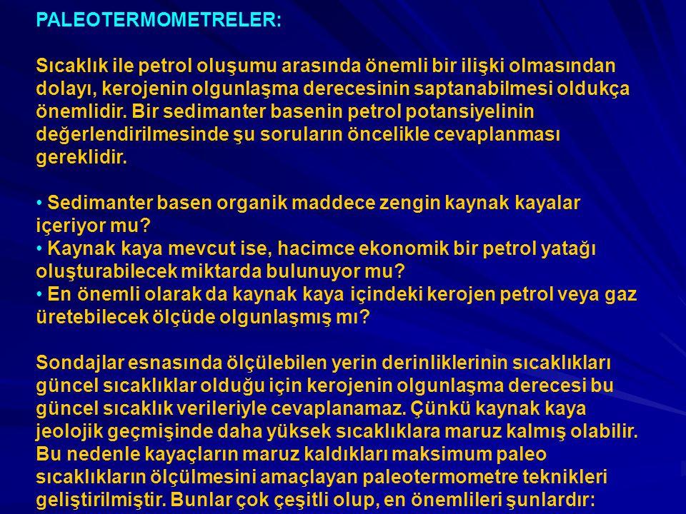 PALEOTERMOMETRELER: