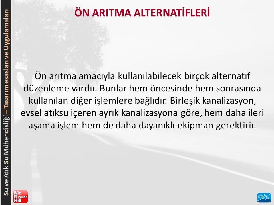 ÖN ARITMA ALTERNATİFLERİ
