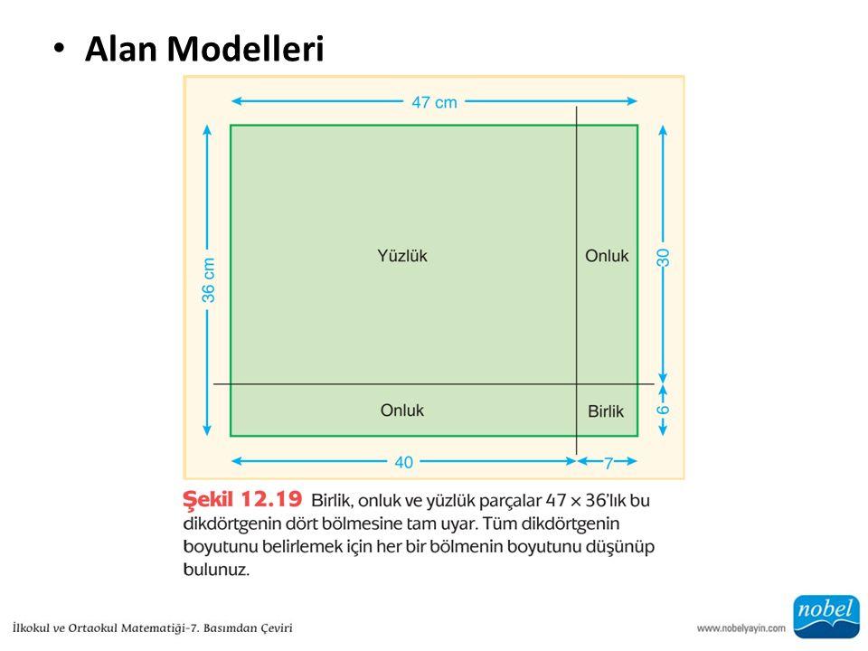 Alan Modelleri