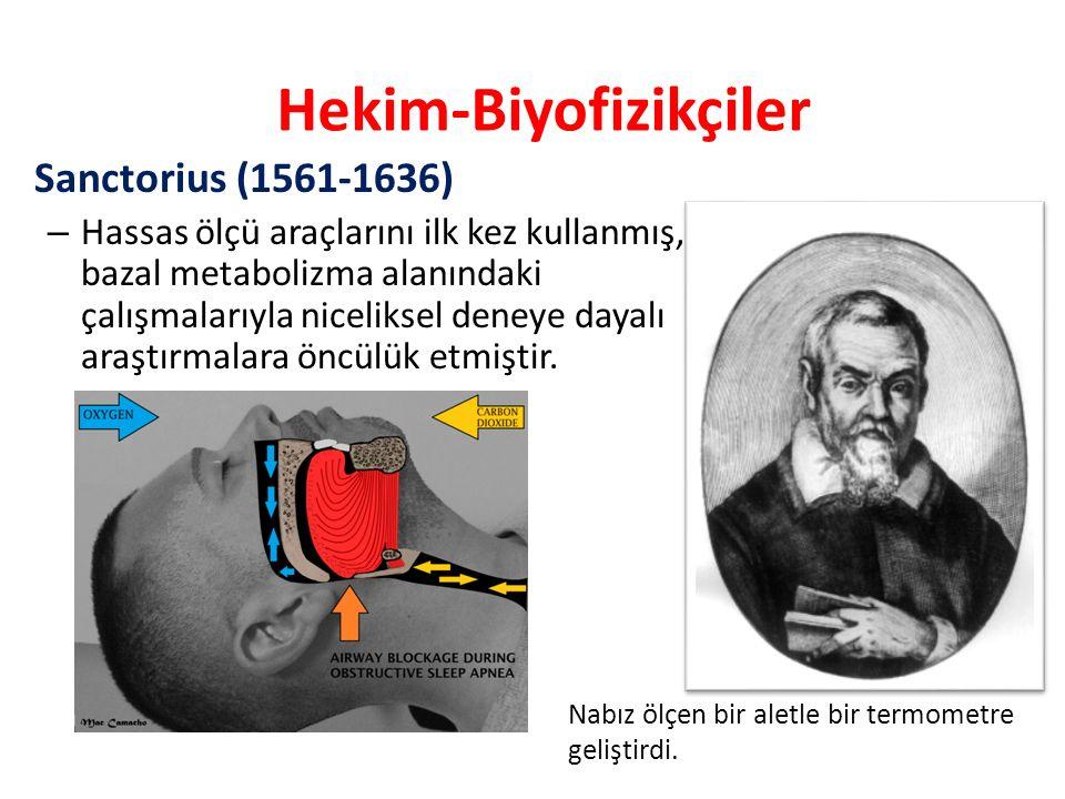 Hekim-Biyofizikçiler
