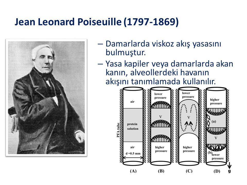 Jean Leonard Poiseuille (1797-1869)