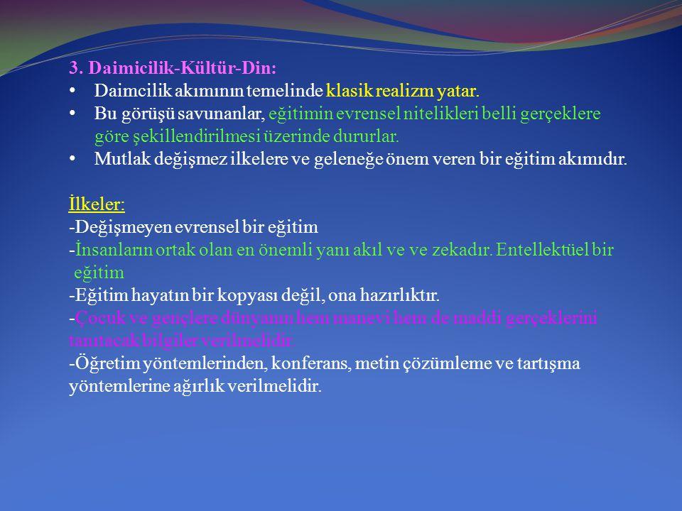 3. Daimicilik-Kültür-Din:
