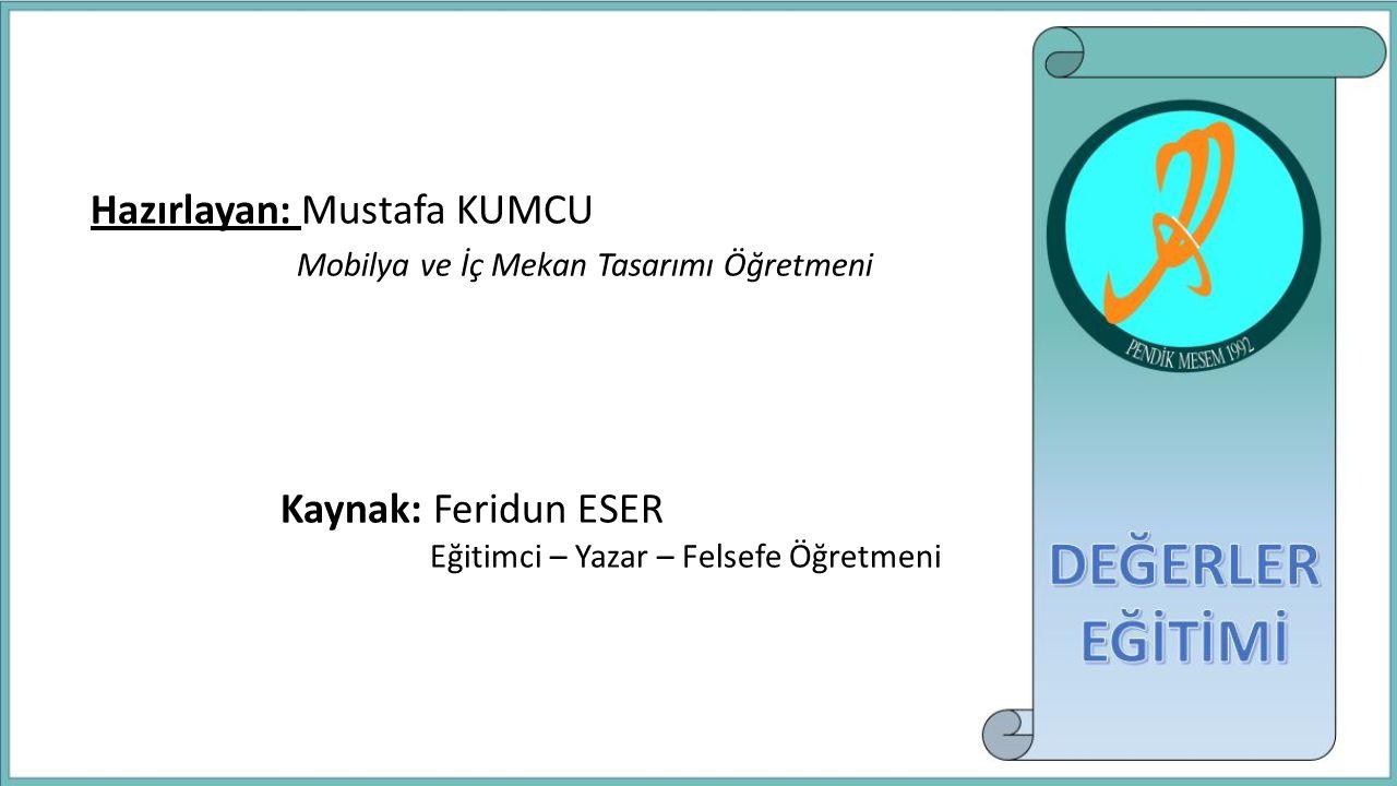 Hazırlayan: Mustafa KUMCU Mobilya ve İç Mekan Tasarımı Öğretmeni
