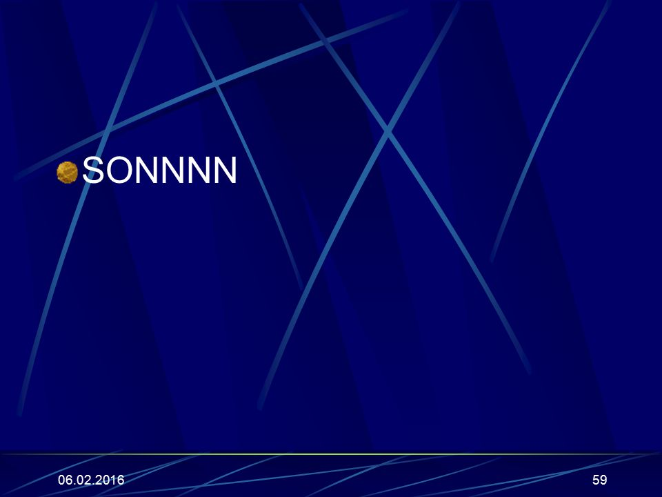 SONNNN 27.04.2017