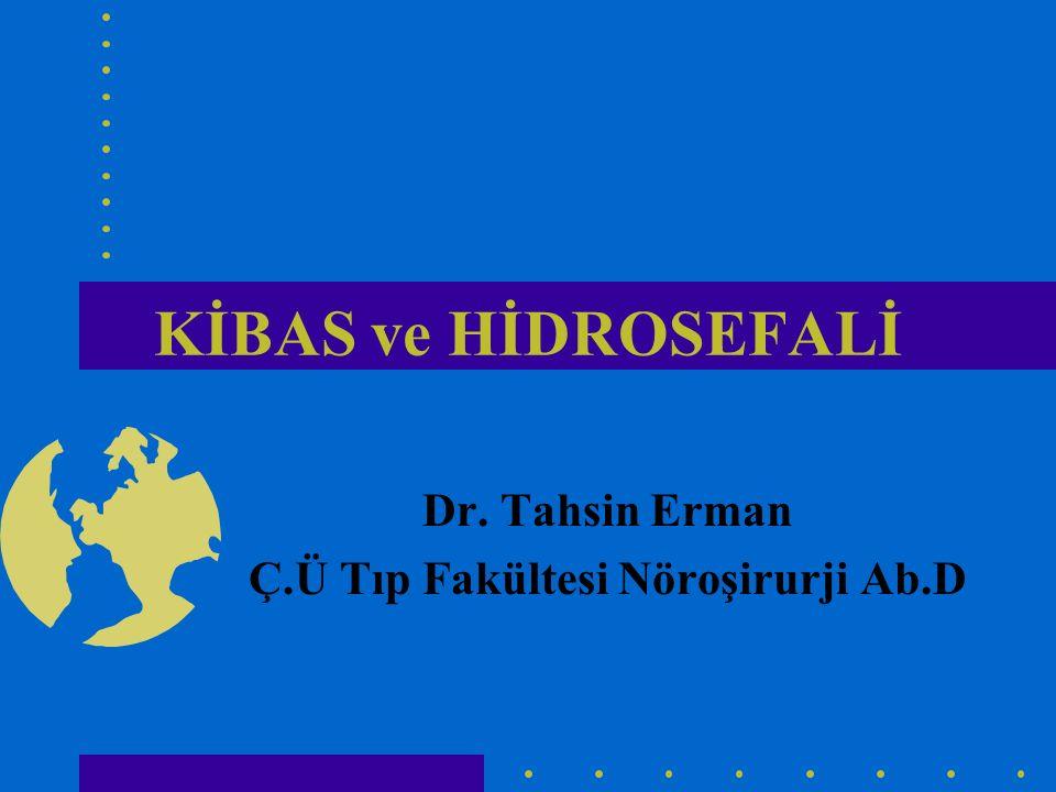 Dr. Tahsin Erman Ç.Ü Tıp Fakültesi Nöroşirurji Ab.D
