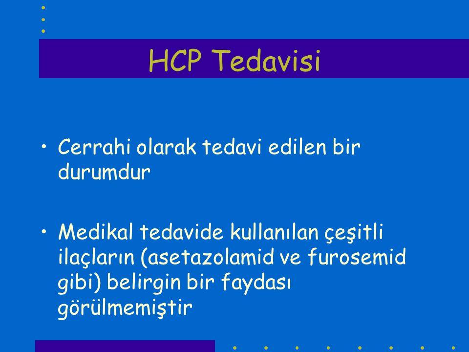 HCP Tedavisi Cerrahi olarak tedavi edilen bir durumdur