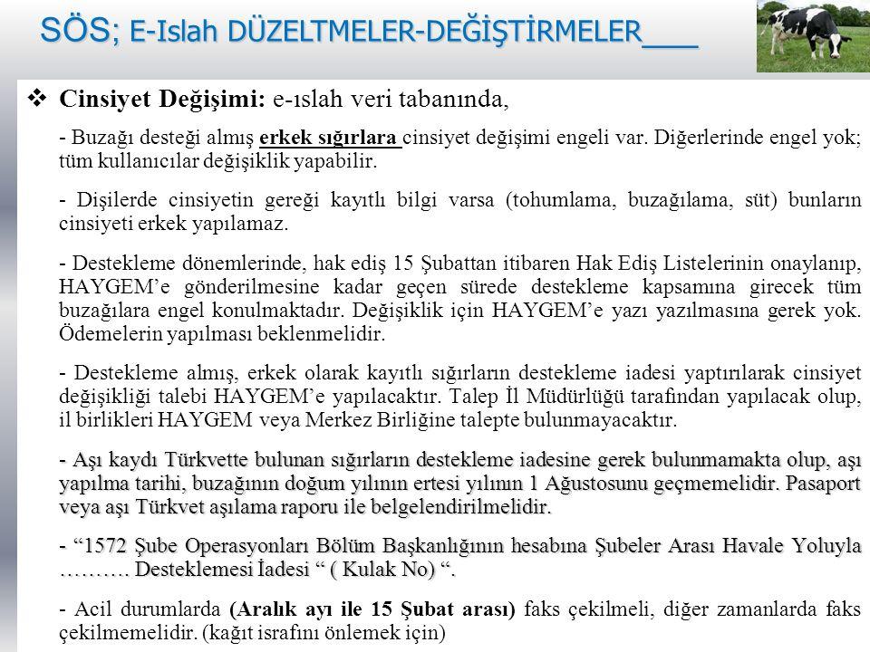 SÖS; E-Islah DÜZELTMELER-DEĞİŞTİRMELER___