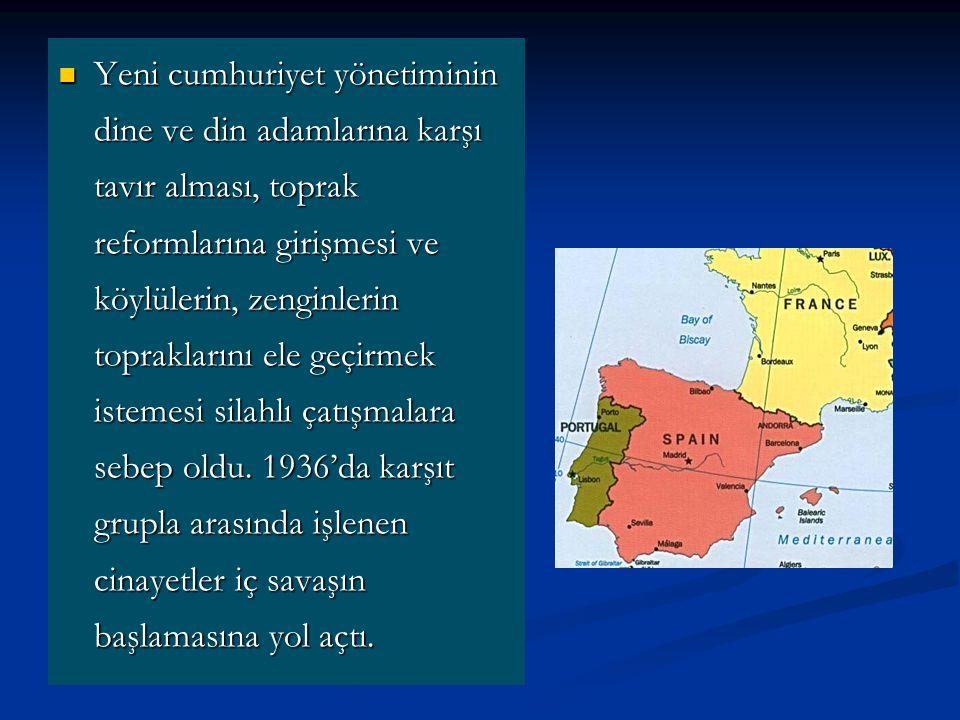 Yeni cumhuriyet yönetiminin dine ve din adamlarına karşı tavır alması, toprak reformlarına girişmesi ve köylülerin, zenginlerin topraklarını ele geçirmek istemesi silahlı çatışmalara sebep oldu.