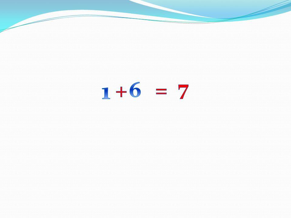 7 1 + 6 =