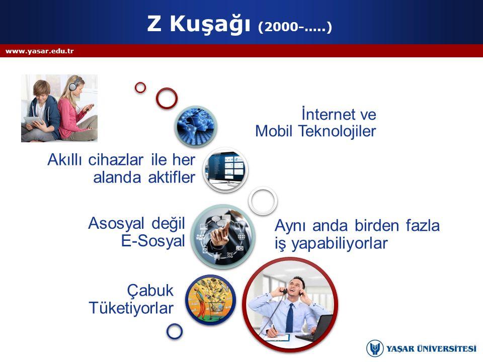 Z Kuşağı (2000-…..) Akıllı cihazlar ile her alanda aktifler