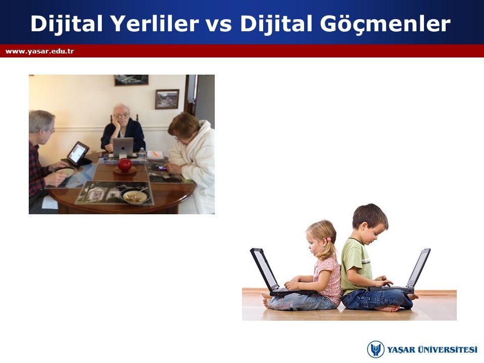 Dijital Yerliler vs Dijital Göçmenler