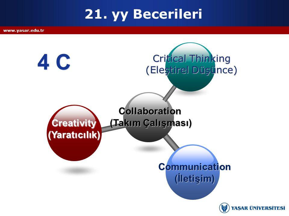 4 C 21. yy Becerileri Critical Thinking (Eleştirel Düşünce)