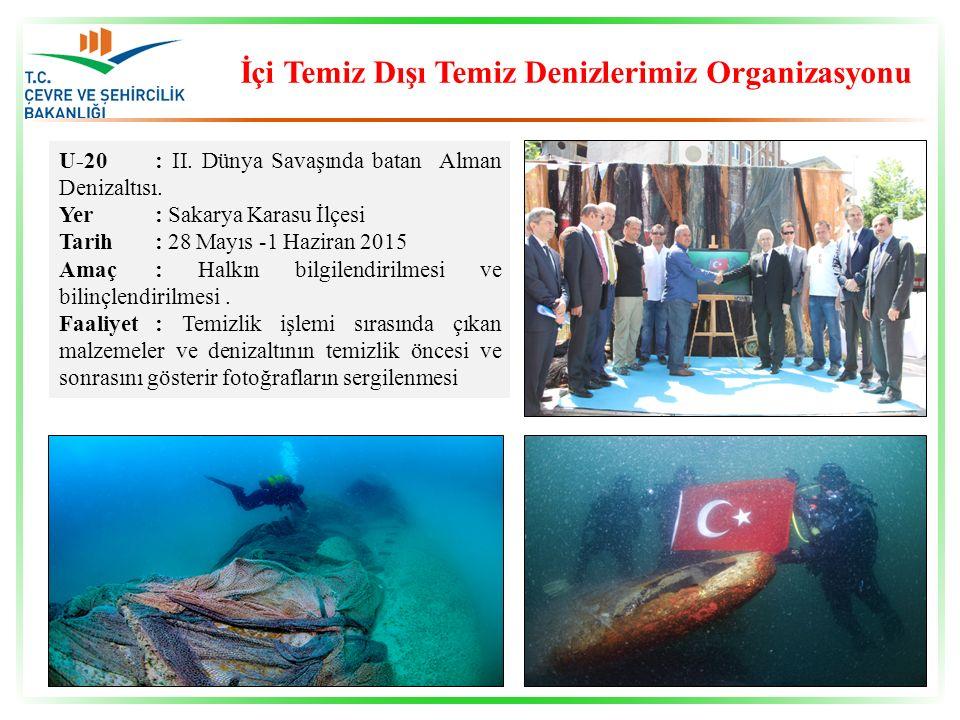 İçi Temiz Dışı Temiz Denizlerimiz Organizasyonu