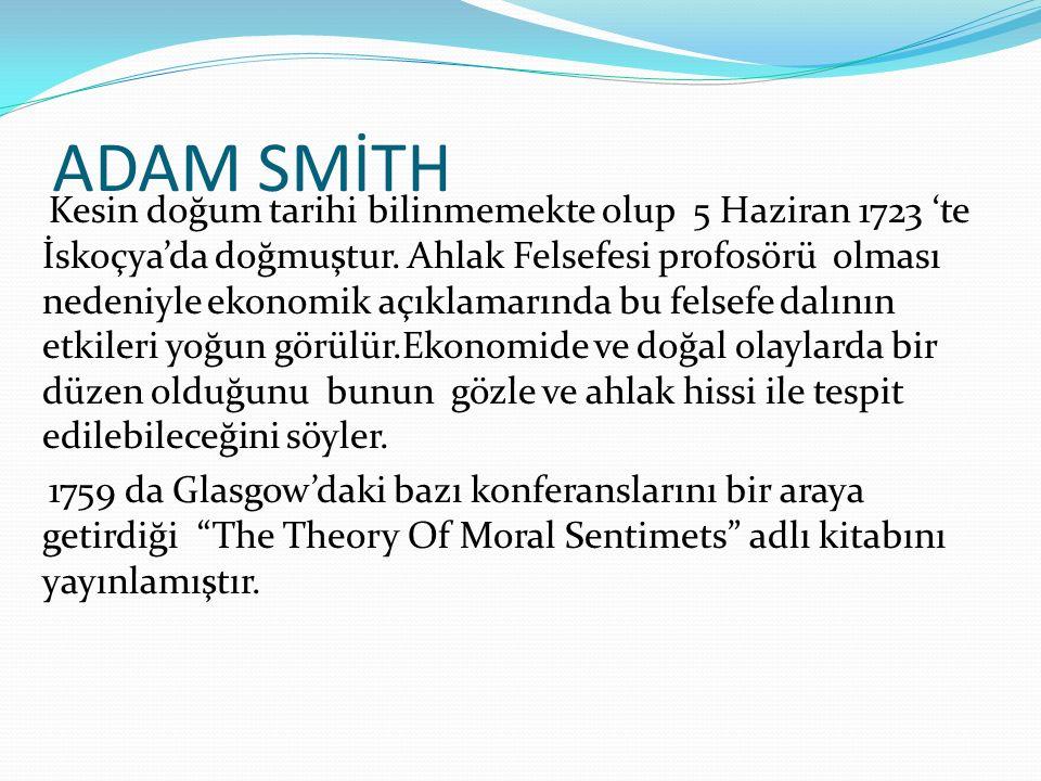 ADAM SMİTH