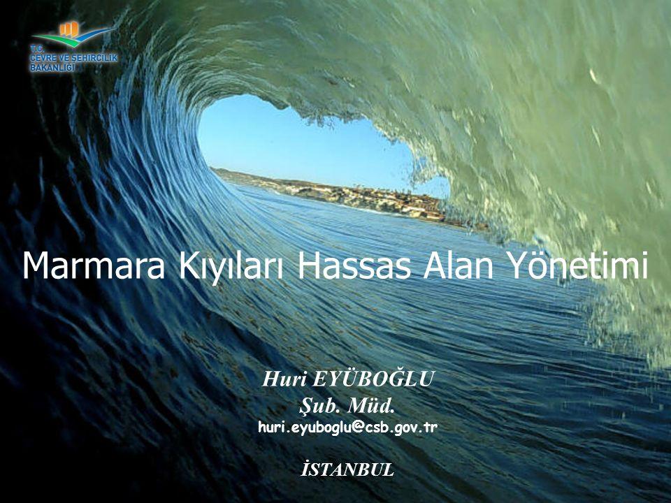 Marmara Kıyıları Hassas Alan Yönetimi