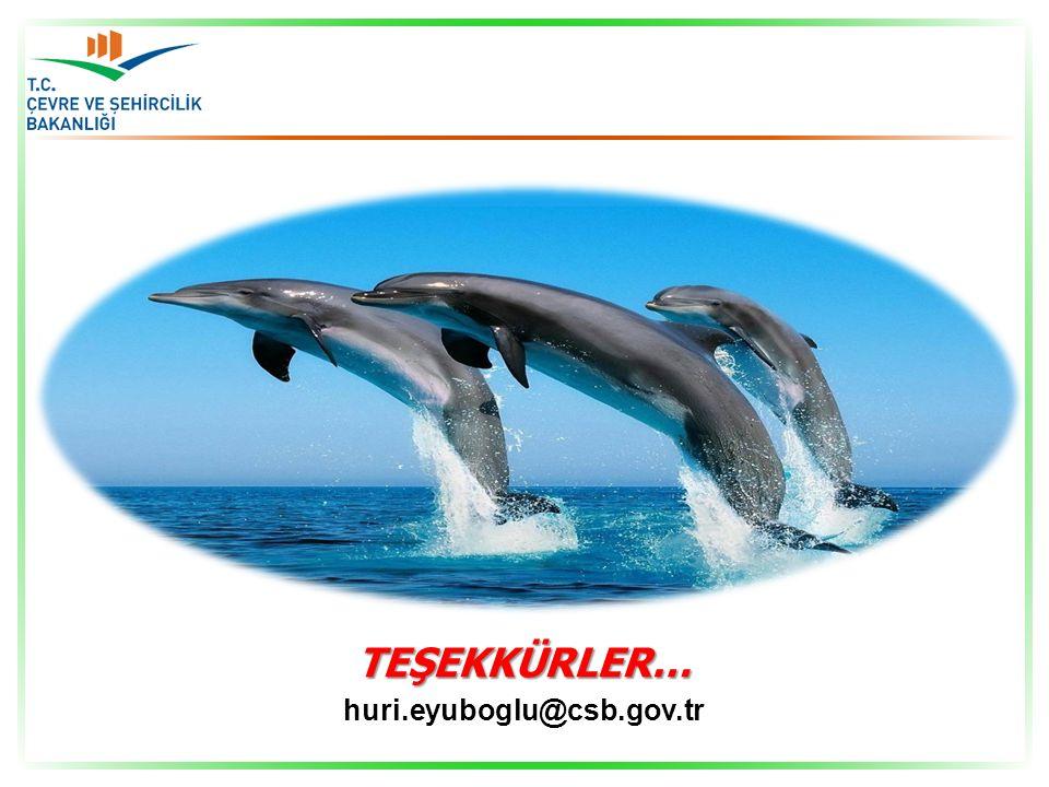 TEŞEKKÜRLER… huri.eyuboglu@csb.gov.tr