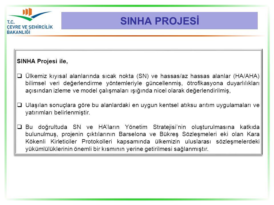 SINHA PROJESİ SINHA Projesi ile,