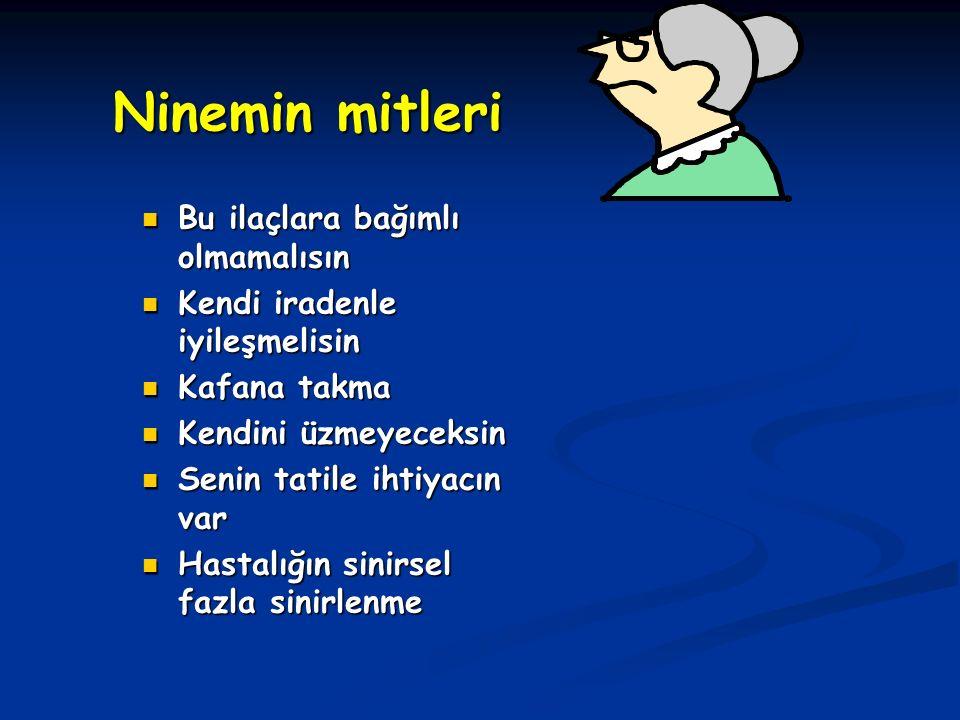 Ninemin mitleri Bu ilaçlara bağımlı olmamalısın