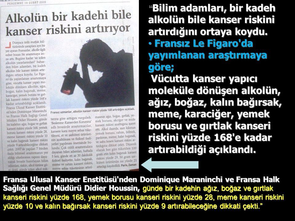 Fransız Le Figaro da yayımlanan araştırmaya göre;