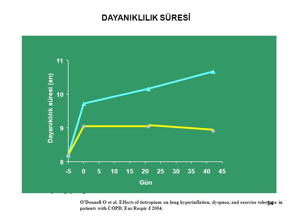 DAYANIKLILIK SÜRESİ =1 min 45 s (21.4%) =1 min 7 s (13.6%) 11