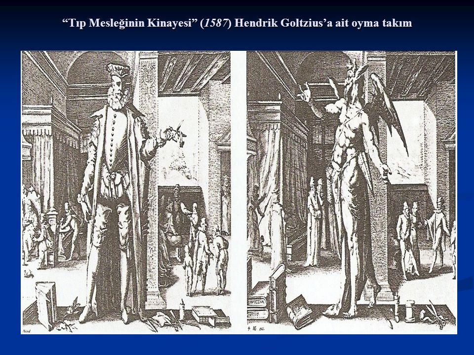 Tıp Mesleğinin Kinayesi (1587) Hendrik Goltzius'a ait oyma takım