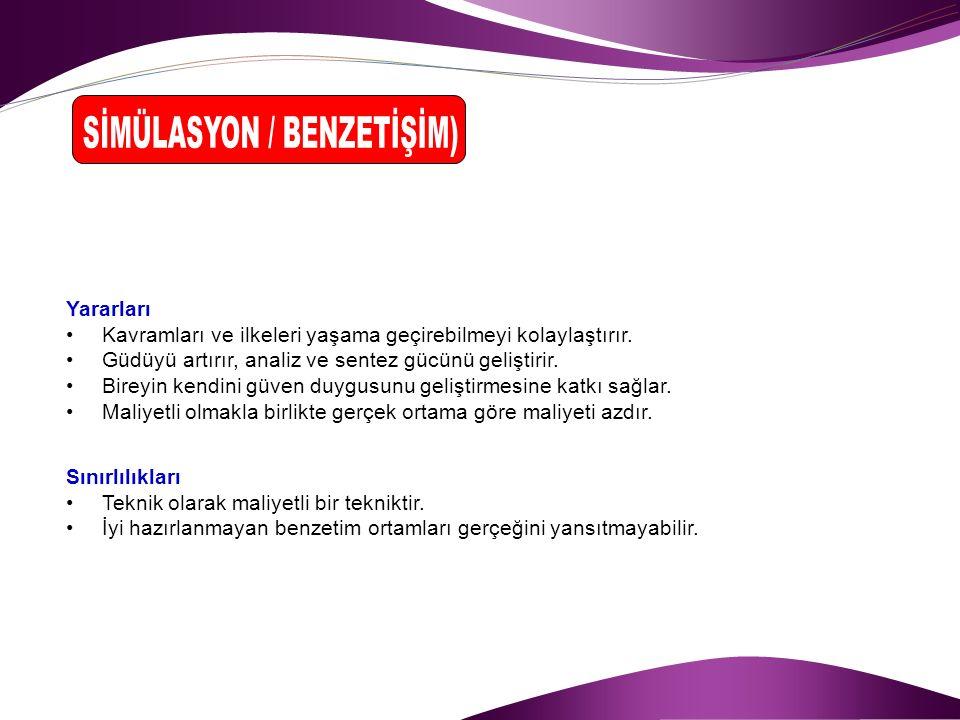 SİMÜLASYON / BENZETİŞİM)