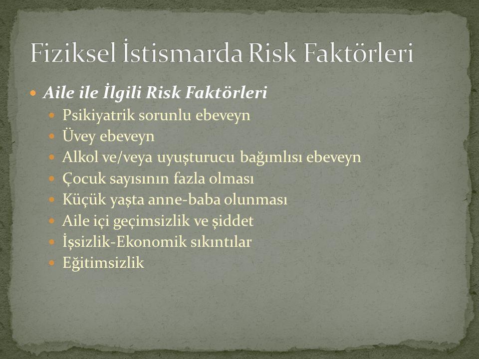 Fiziksel İstismarda Risk Faktörleri
