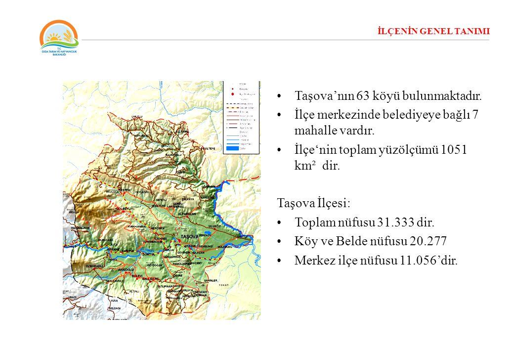Taşova'nın 63 köyü bulunmaktadır.
