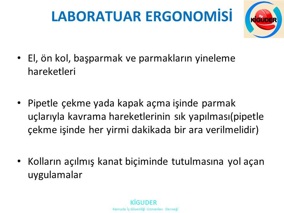 LABORATUAR ERGONOMİSİ