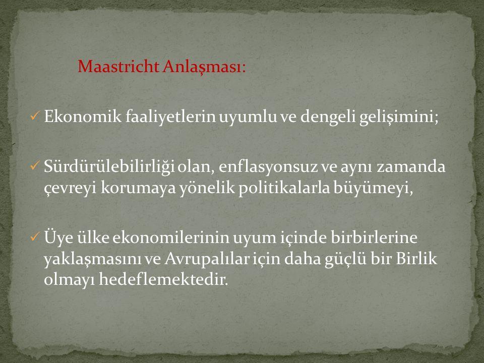 Maastricht Anlaşması: