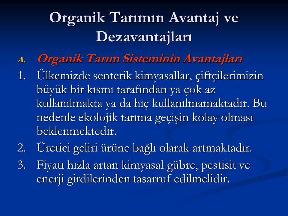 Organik Tarımın Avantaj ve Dezavantajları