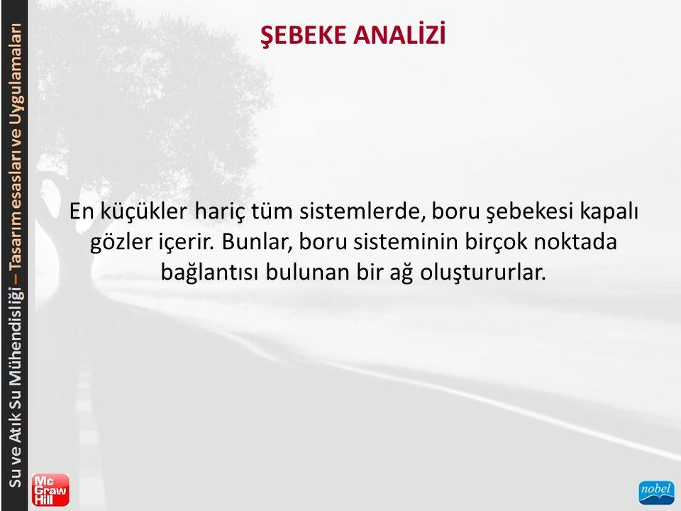 ŞEBEKE ANALİZİ