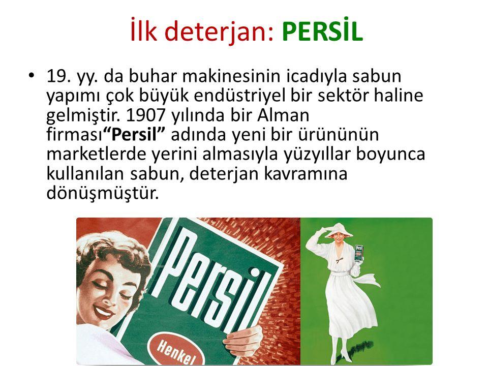 İlk deterjan: PERSİL