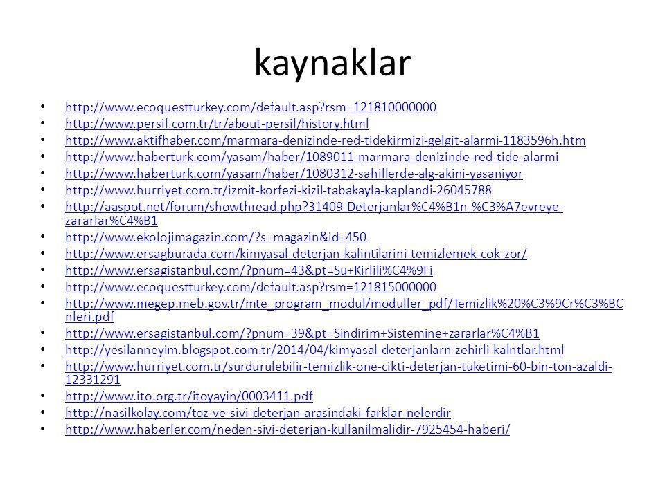 kaynaklar http://www.ecoquestturkey.com/default.asp rsm=121810000000
