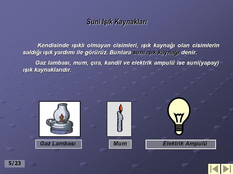 Suni Işık Kaynakları