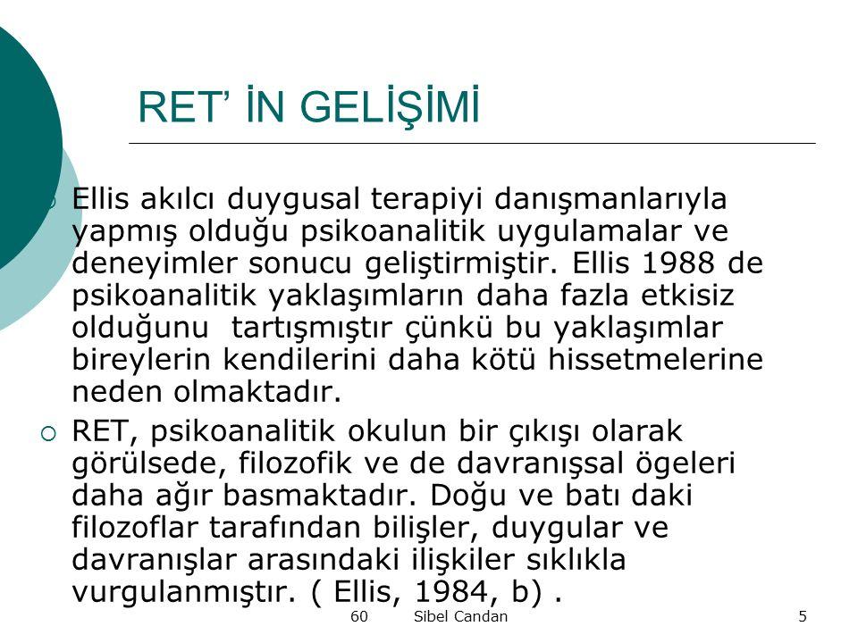 RET' İN GELİŞİMİ