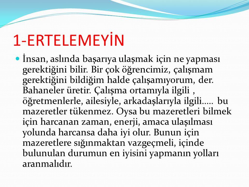 1-ERTELEMEYİN