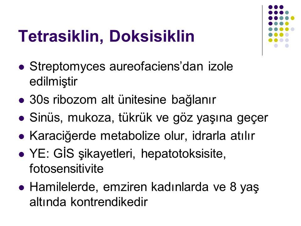 Tetrasiklin, Doksisiklin