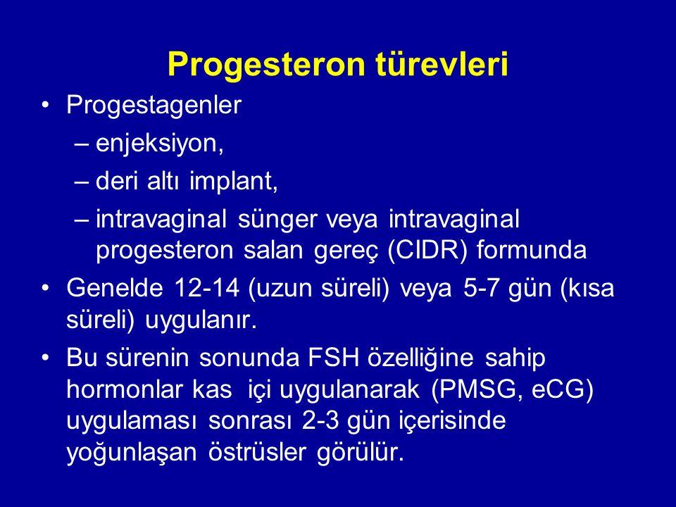Progesteron türevleri
