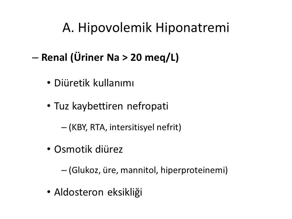 A. Hipovolemik Hiponatremi