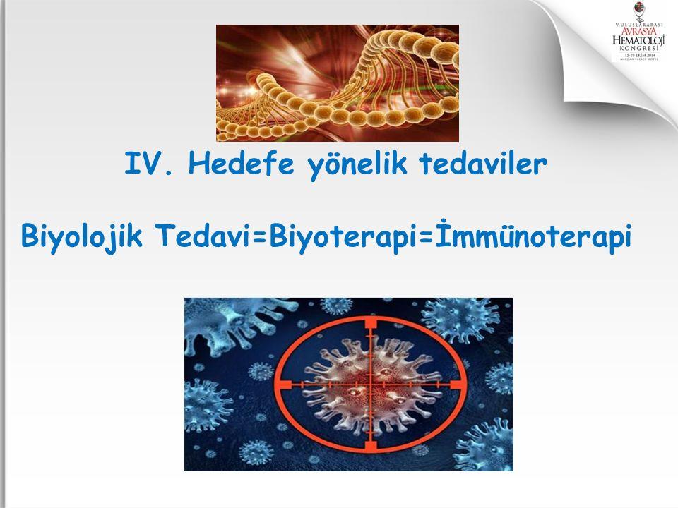 IV. Hedefe yönelik tedaviler