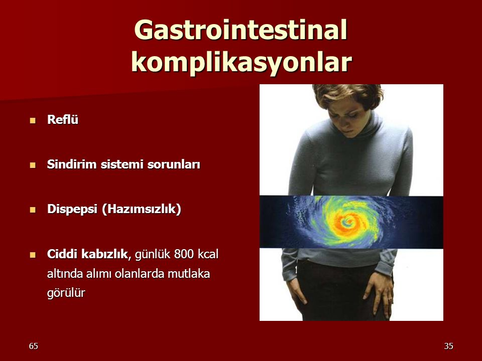 Gastrointestinal komplikasyonlar