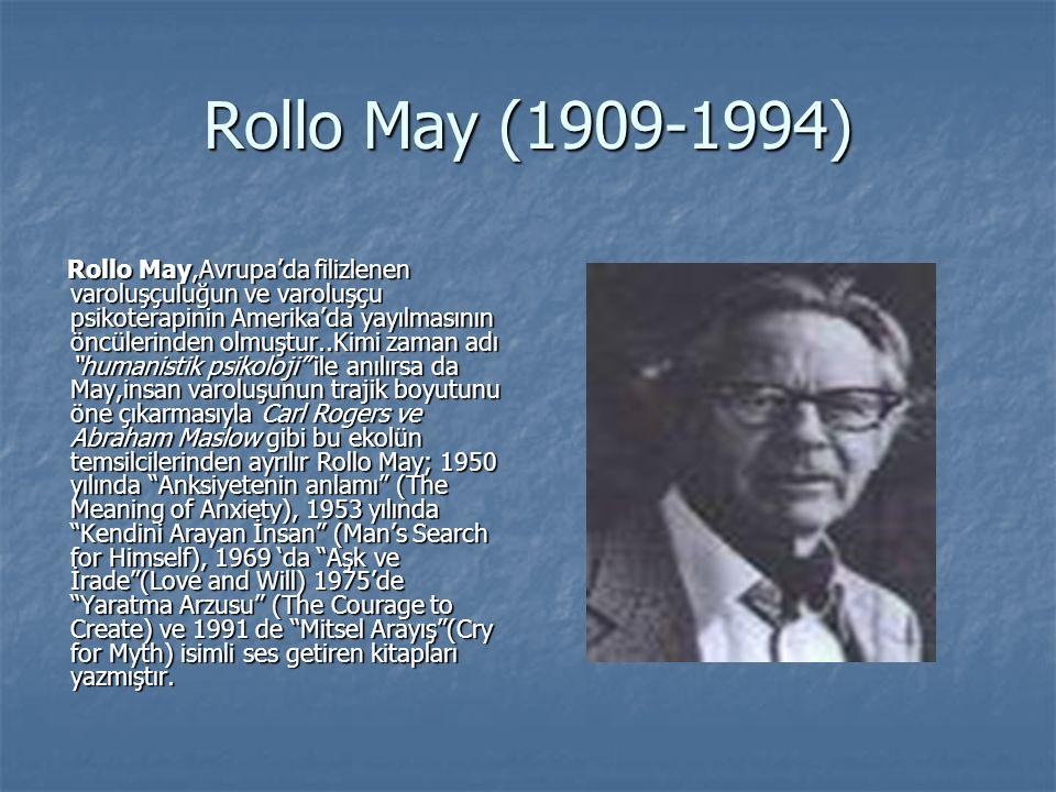Rollo May (1909-1994)