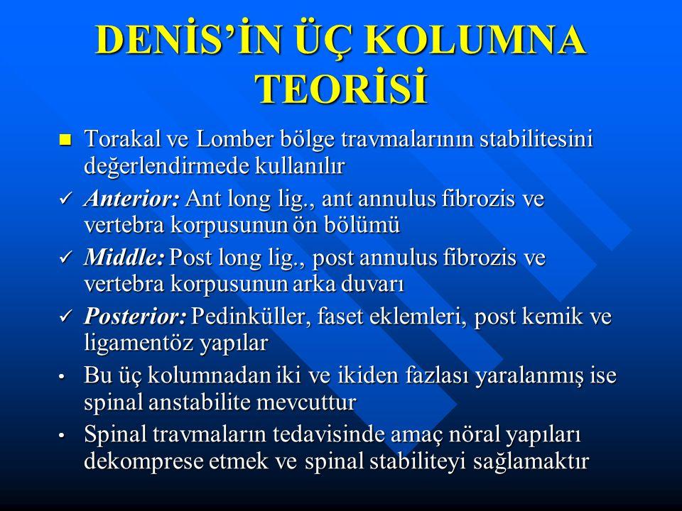 DENİS'İN ÜÇ KOLUMNA TEORİSİ