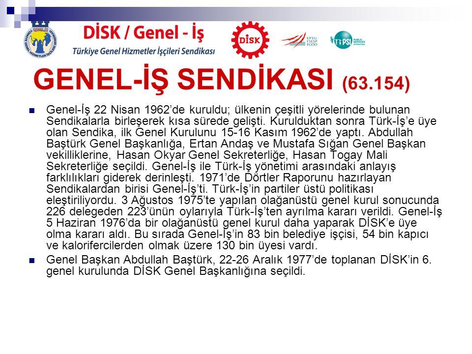 GENEL-İŞ SENDİKASI (63.154)