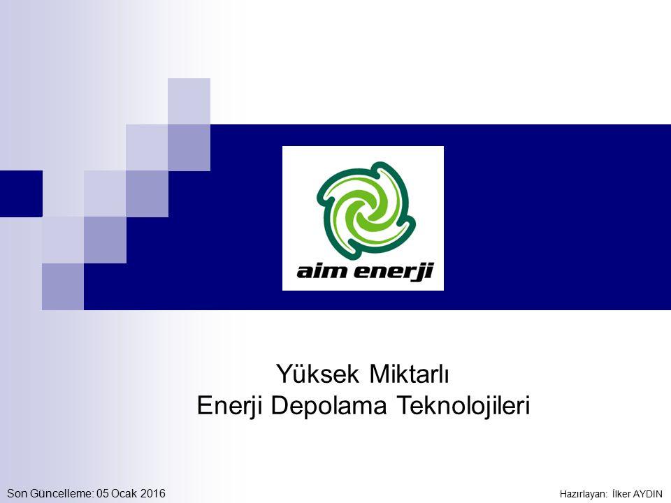 Enerji Depolama Teknolojileri