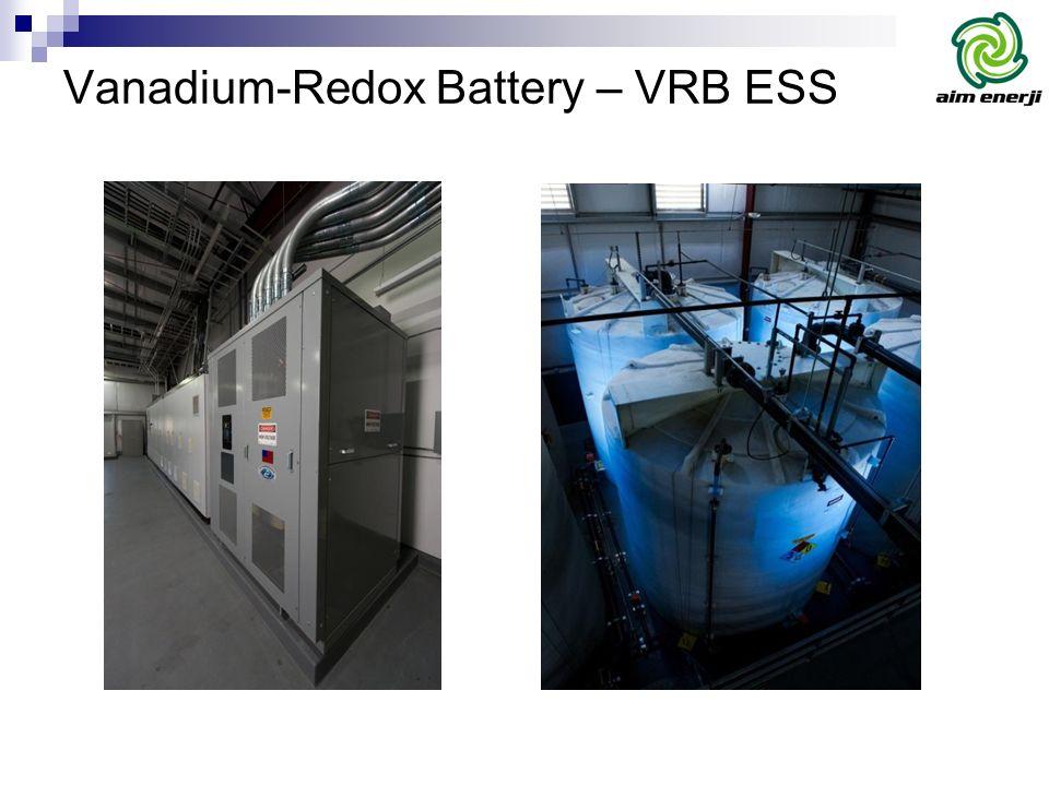Vanadium-Redox Battery – VRB ESS