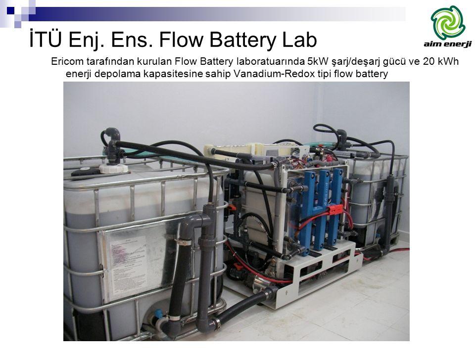 İTÜ Enj. Ens. Flow Battery Lab