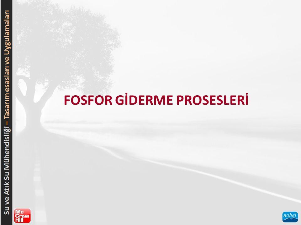FOSFOR GİDERME PROSESLERİ